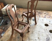 Queen Anne Side Chairs for Dollhouse