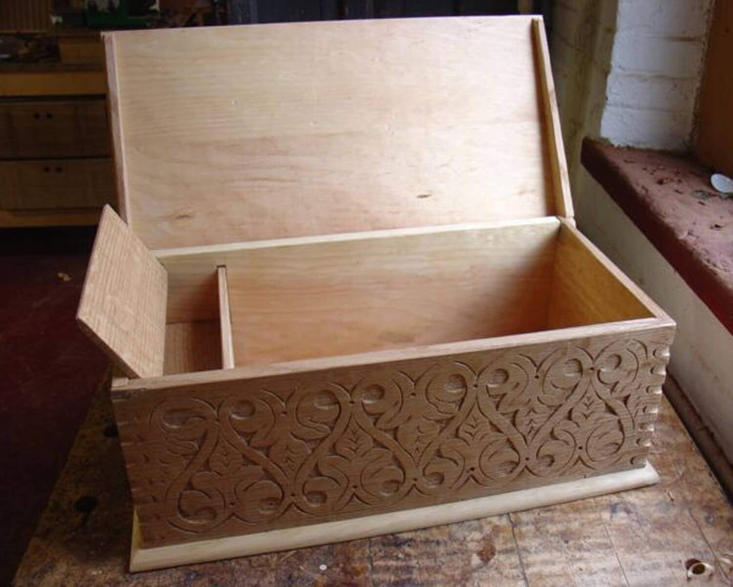 17th Century Box Open