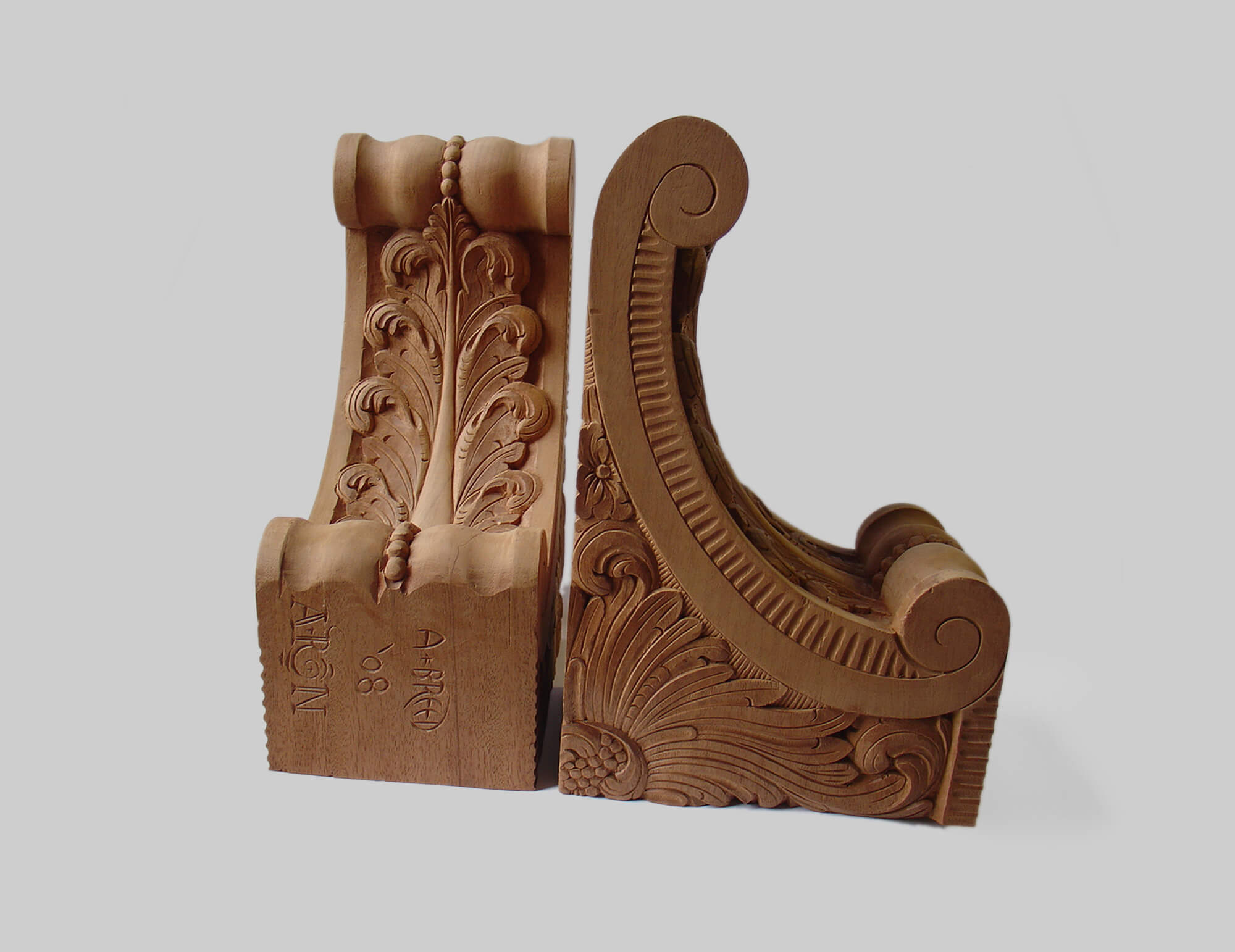 Carved Brackets