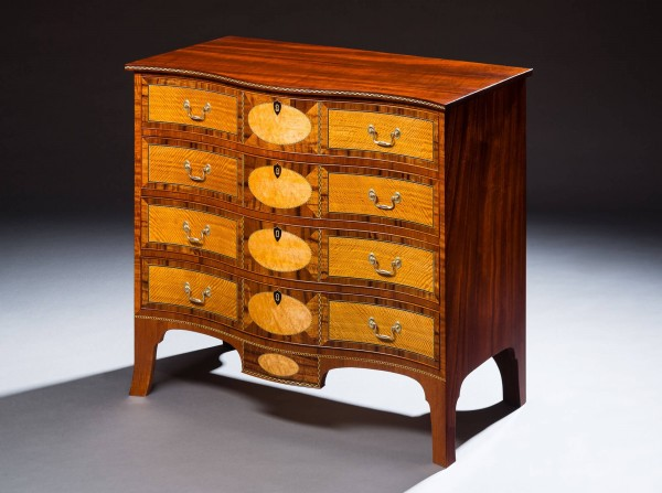 Federal Veneered Chest