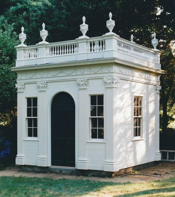 McIntire Garden House