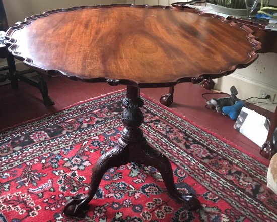Philadelphia Piecrust Table