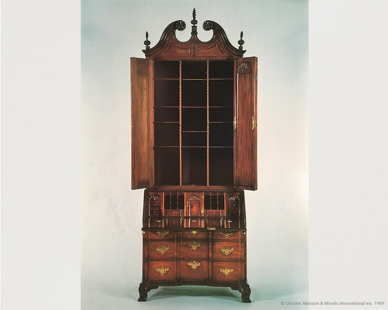 John Goddard Desk and Bookcase