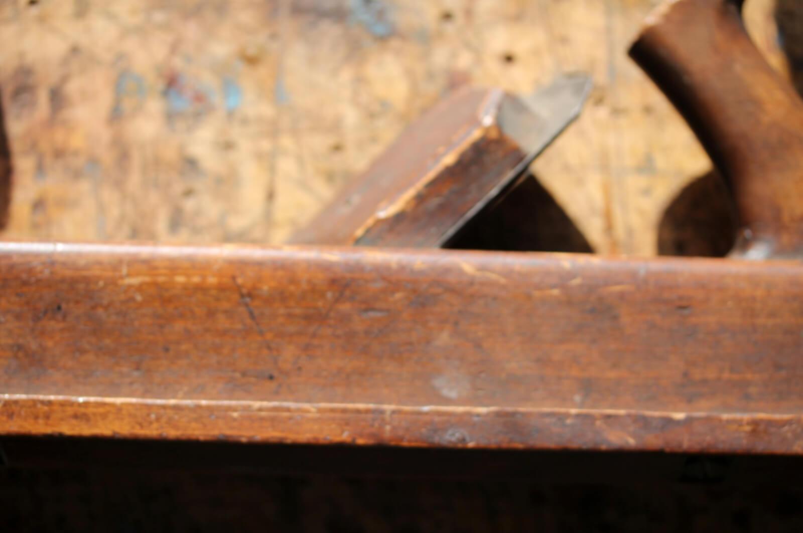 wooden panel raising plane