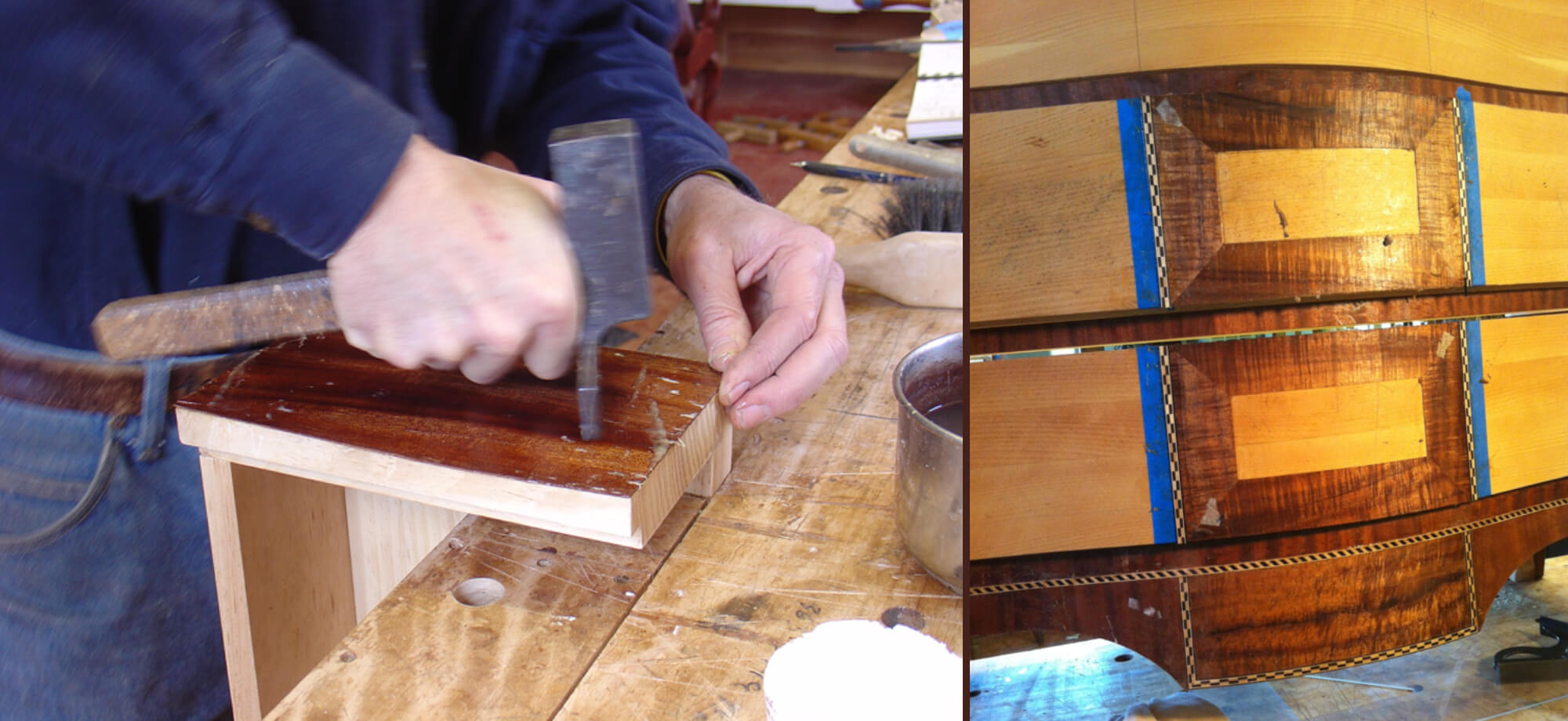 Hammer Veneering Workshop