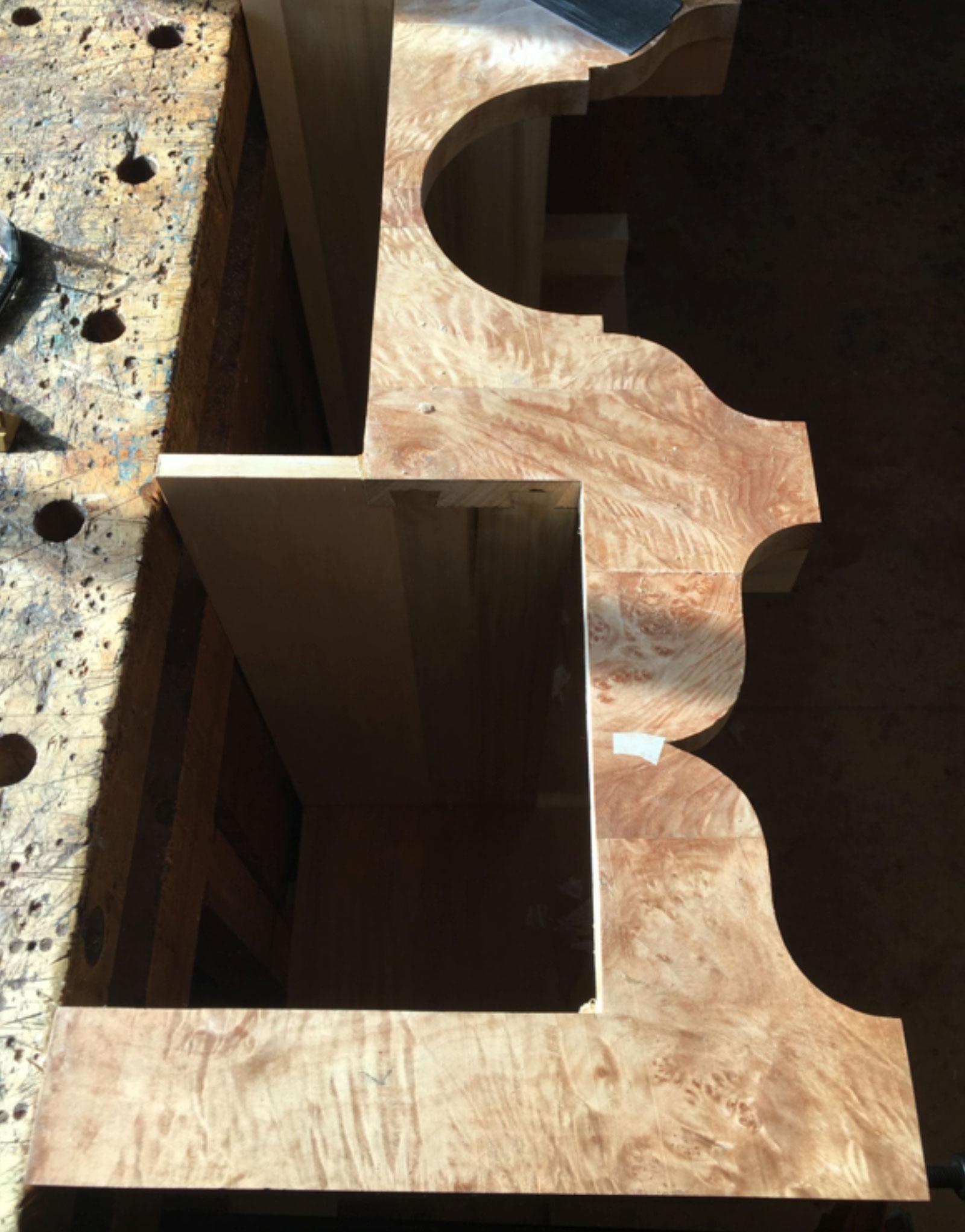 Six Legged Highboy - Interior Dividers