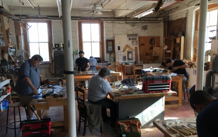 Classroom - Allan Breed School of Woodworking