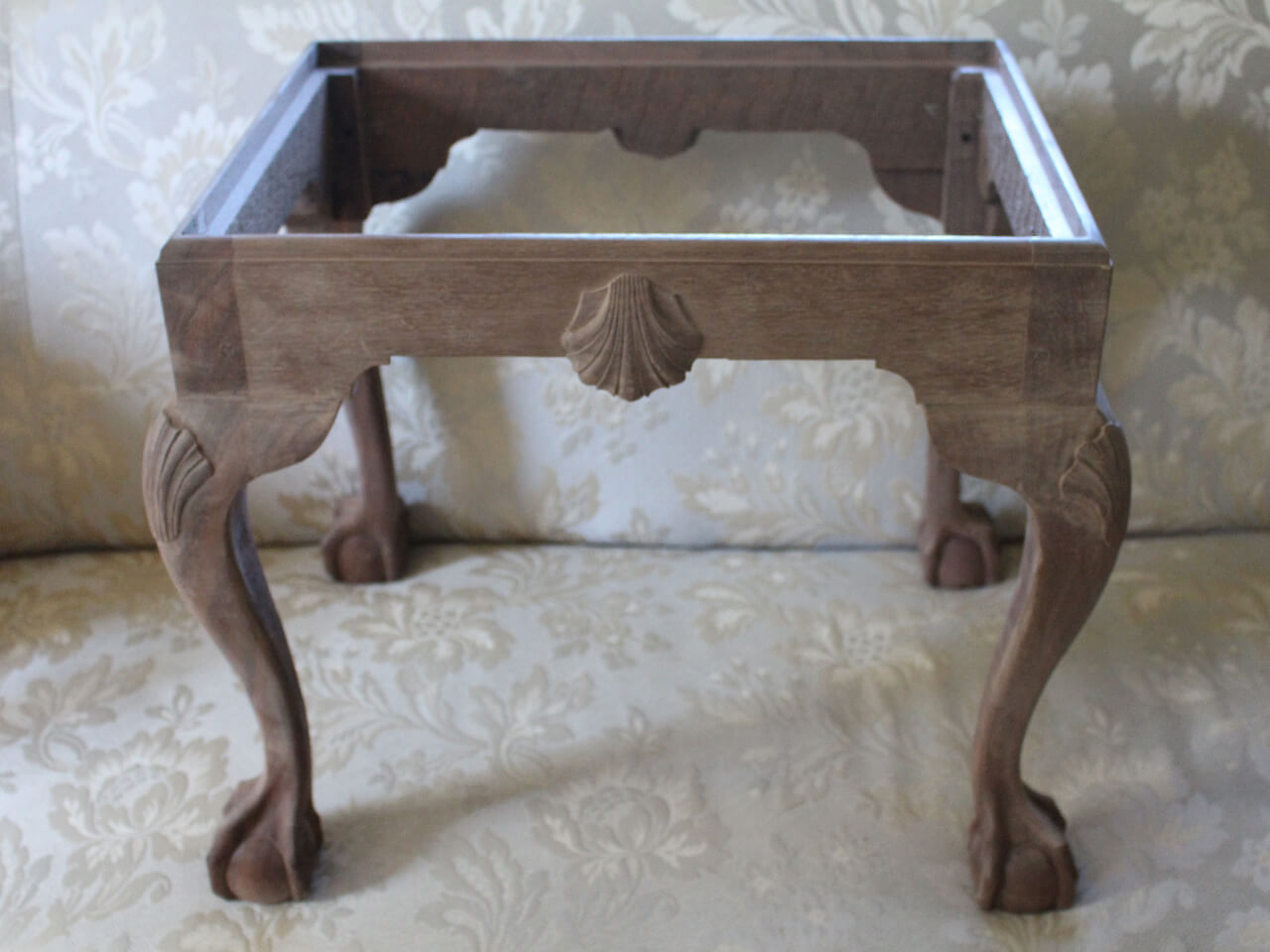 Carved Footstool
