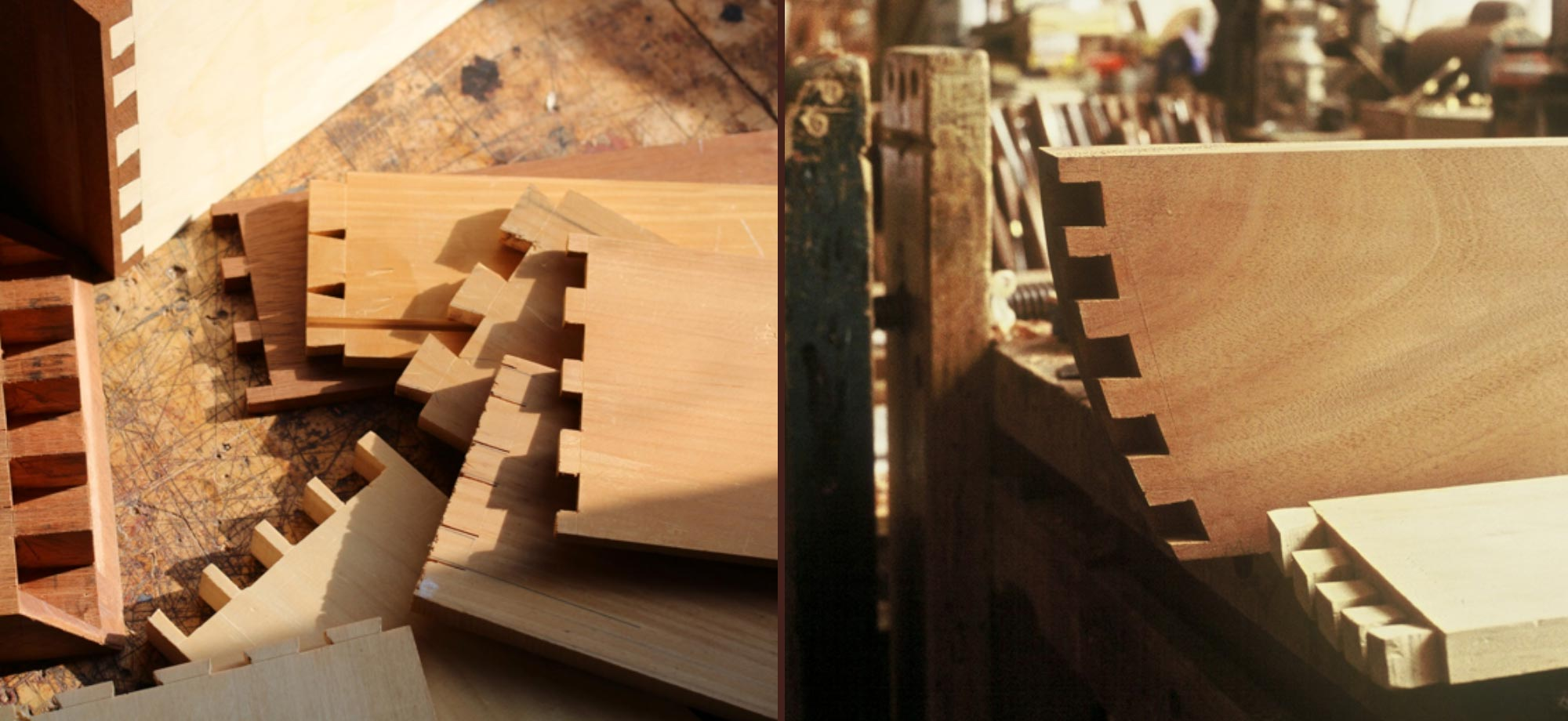 Dovetails and Drawers class