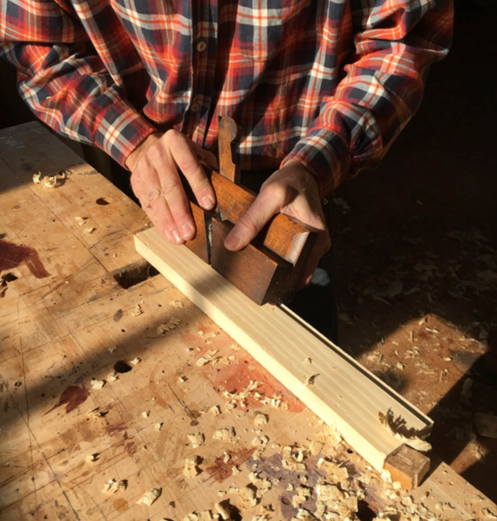How to use a molding plane