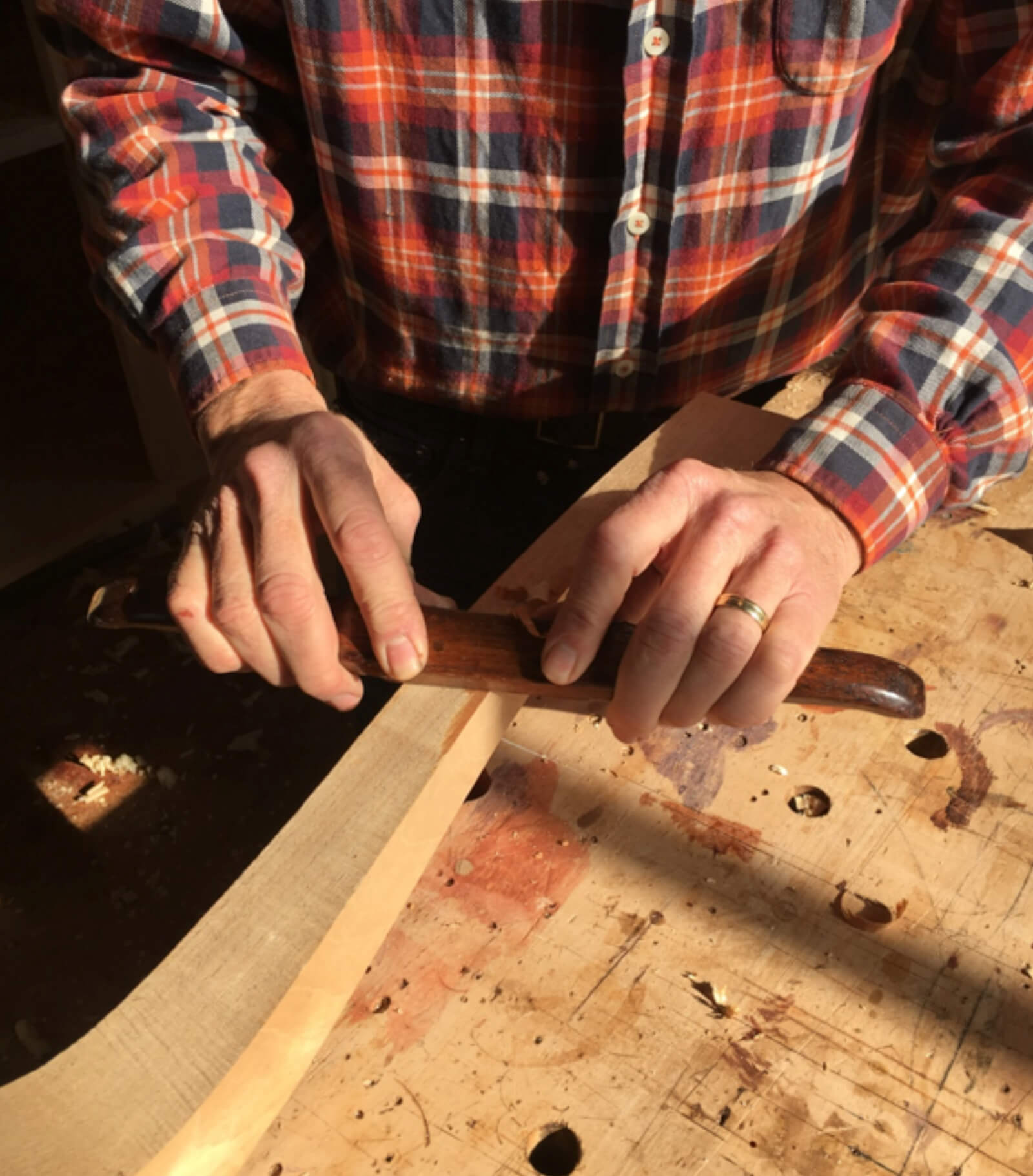 How to use a spokeshave