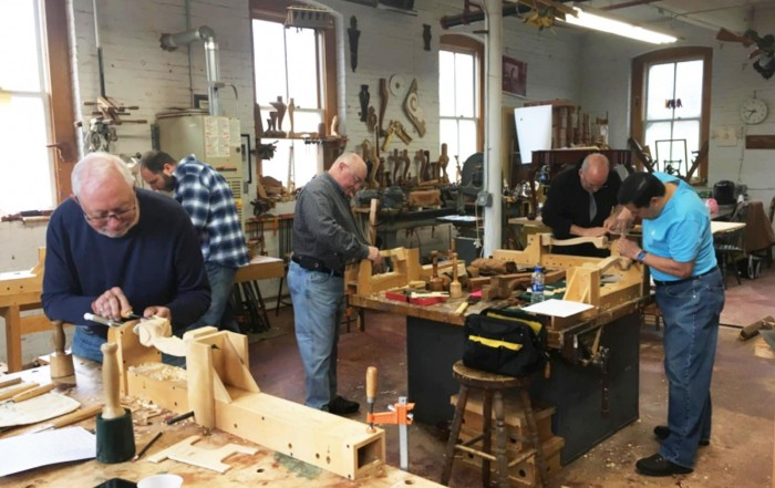 Allan Breed School of Woodworking class